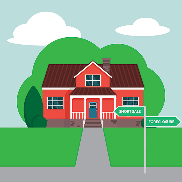 Difference between short sale and foreclosure