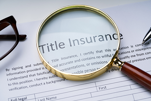 Requirements for obtaining title insurance