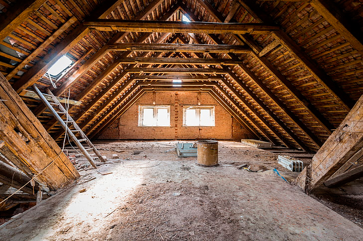 Attic renovation for increasing your investment property value
